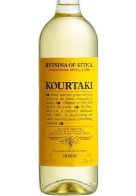 Retsina Kourtaki 750 ml  vol 12%
