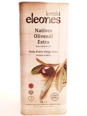 Huile d'olive extra vierge Kritiki Elaiones  5 lt