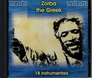 CD - Zorba the Greek - 18 instrumentals