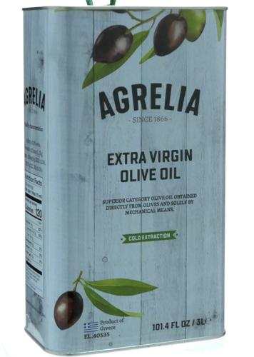 Huile d'olive AGRELIA extra vierge 3 litres