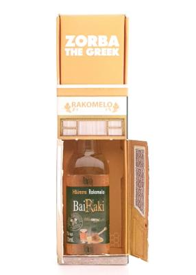 Coffret musical ZORBA THE GREEK avec un Rakomelo 50 ml