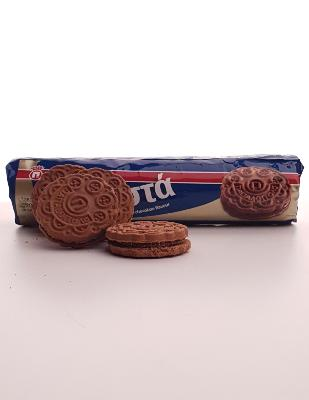 Biscuits Papadopoulou fourrés au chocolat 200 g